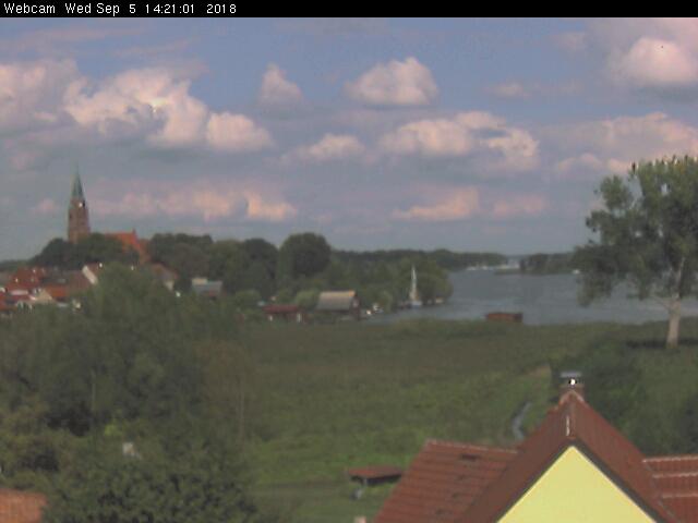 Röbel and Lake Müritz